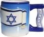 Музыкальная чашка с флагом Израиля