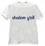 Футболка - SHALOM Y'ALL (Мир всем Вам)